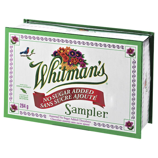 Whitman No Sugar Added Sampler - 284g