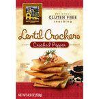 Lentil Crackers - Cracked Pepper - 128g