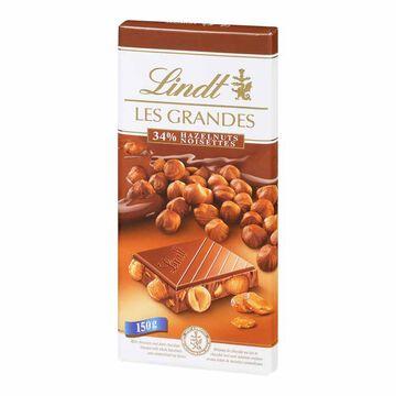 Lindt Les Grandes - Hazelnuts - 150g
