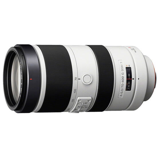 Sony A 70-400mm F4.5-5.6 Super Telephoto Lens - SAL70400G2