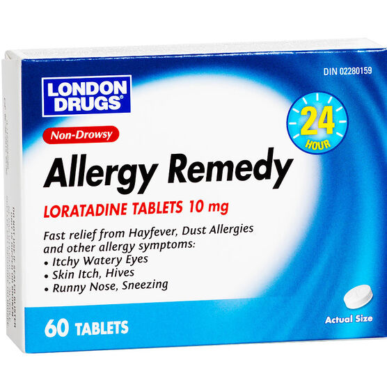 London Drugs 24 Hour Allergy Remedy - 60's