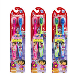 Colgate Dora the Explorer Toothbrush - Extra Soft - 2 pack