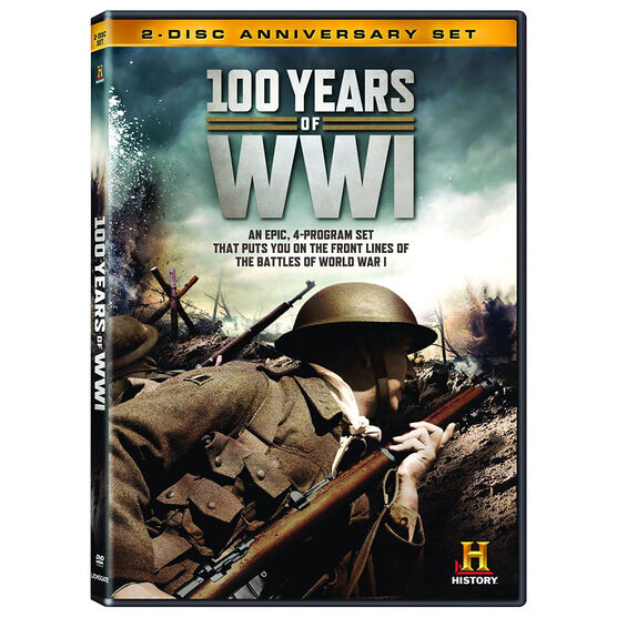 100 Years of WWI - DVD