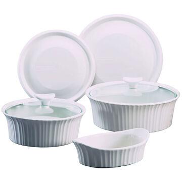 Corningware Set - French White - 7 piece