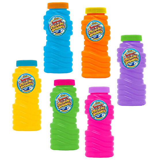 Super Miracle Bubbles - 8oz - Assorted