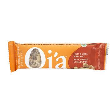 Nature's Path Organic Qi'a Bar - Nuts Seeds & Sea Salt - 38g