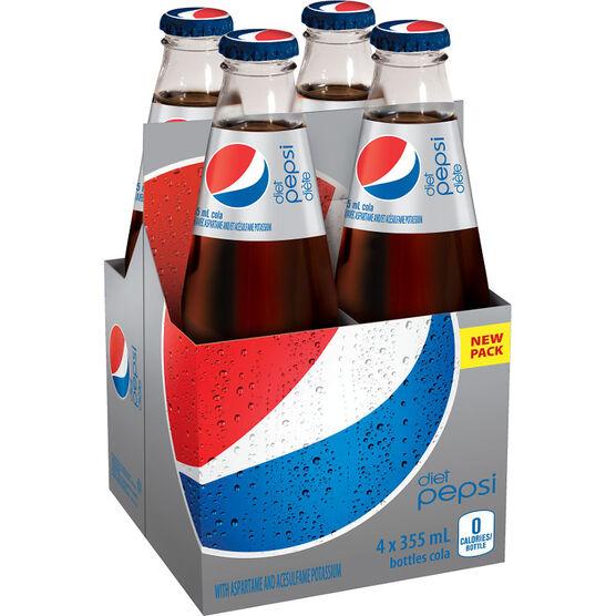 Pepsi - 4 x 355mL