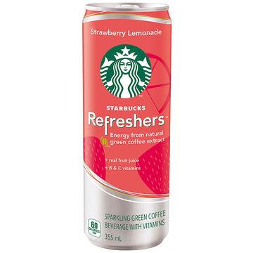 Starbucks Refreshers - Strawberry Lemonade - 355ml