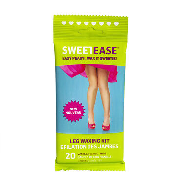 Sweet Ease Leg Waxing Kit - 20's