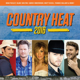 Various Artists - Country Heat 2016 - CD