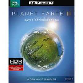 Planet Earth II - 4K UHD Blu-ray
