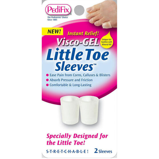 PediFix Little Toe Sleeves - 2 Sleeves
