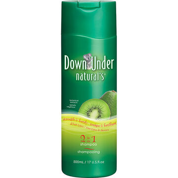 Down Under Natural's 2 in 1 Shampoo & Conditioner - 500ml