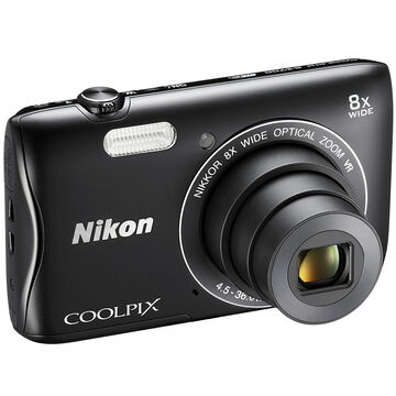 Nikon Coolpix S3700 - Black - 32196