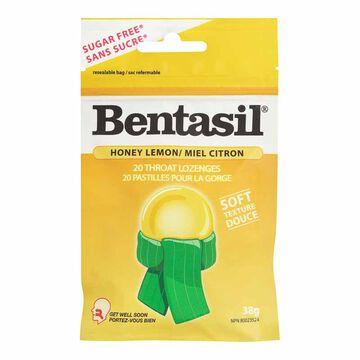 Bentasil Lozenges - Honey Lemon - 20