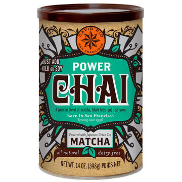 David Rio Tea - Power Chai with Matcha - 398g