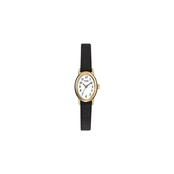 Timex Classic Mid-size Women's Watch - Black/Gold