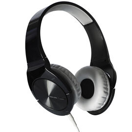 Pioneer On-Ear BASS Headphones with Mic and On-Ear ControlTalk - Black - SEMJ751I