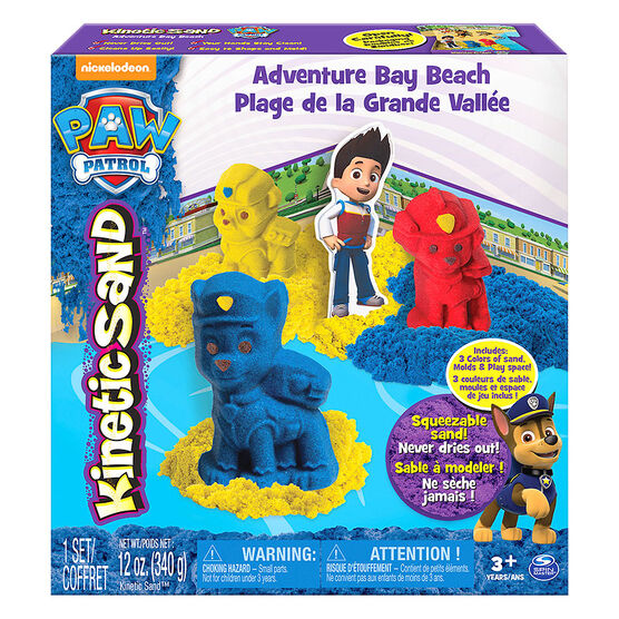 Kinetic Sand Paw Patrol - Adventure Bay Beach