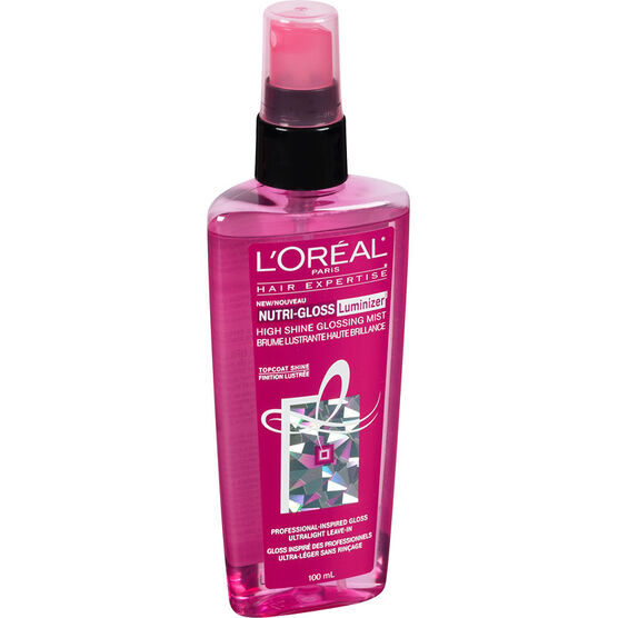 L'Oreal Nutri-Gloss Luminizer Glossing Mist - 100ml
