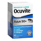 Bauch & Lomb Ocuvite Adult 50+ Softgels - 50's