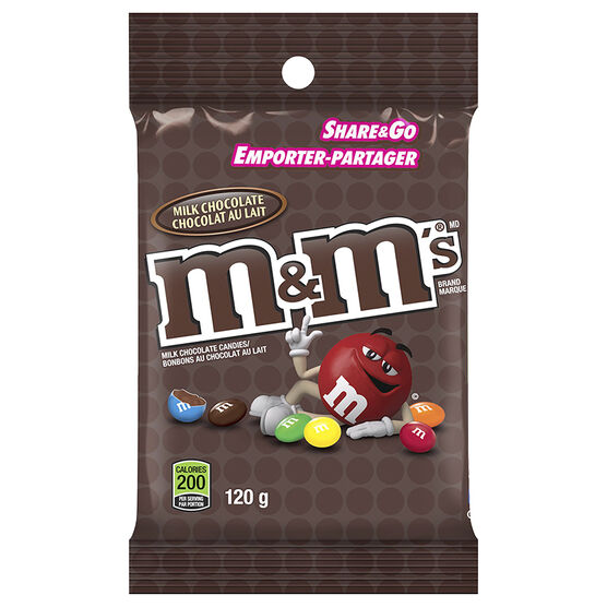 M&M's Milk Chocolate - 120g