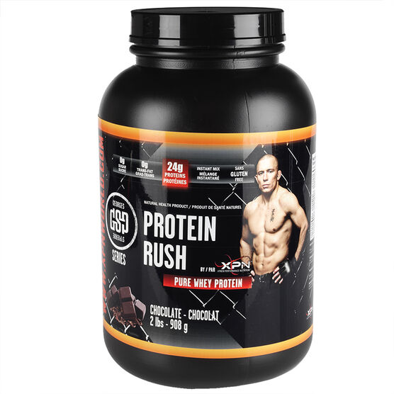 GSP Protein Rush Pure Whey Protein - Chocolate - 908g
