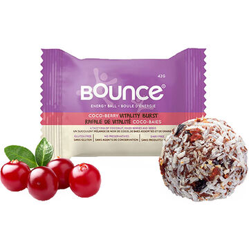 Bounce Energy Ball - Coco-Berry Vitality Burst - 42g