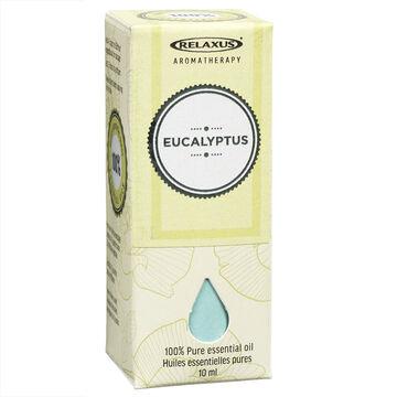 Relaxus Aromatherapy 100% Pure Essential Oil - Eucalyptus - 10ml