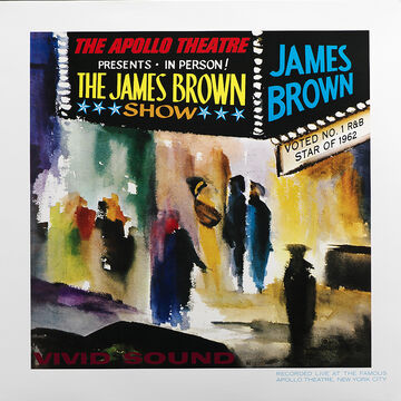 James Brown - Live At The Apollo - Vinyl