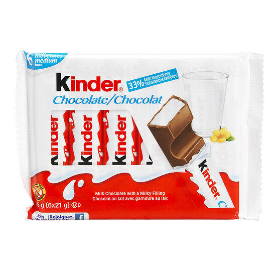Kinder Chocolate - 6x21g