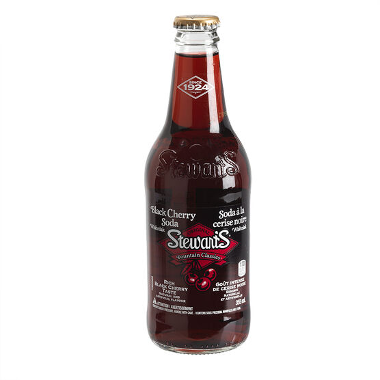 Stewart's Soda - Black Cherry - 355ml
