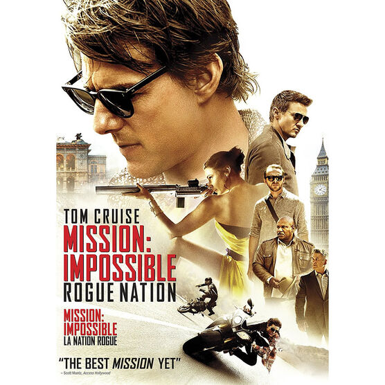 Mission Impossible - Rogue Nation - DVD