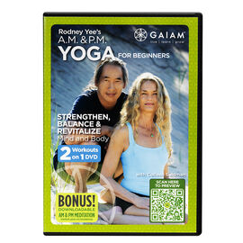Rodney Yee'S A.M. & P.M. Yoga For Beginners - DVD