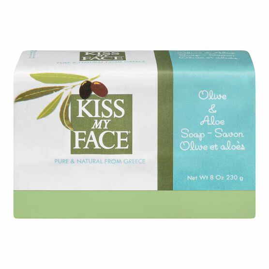 Kiss My Face Olive & Aloe Soap Bar - 230 g
