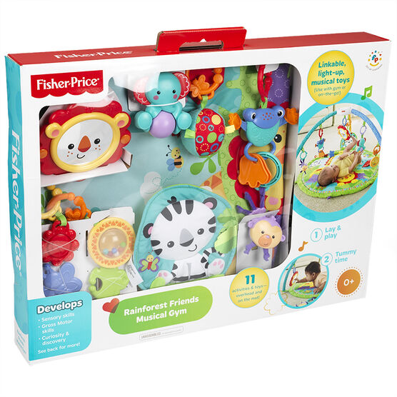 Fisher Price Rainforest Friends Musical Gym - Y65909993