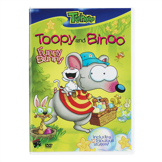 Toopy And Binoo: Funny Bunny - DVD