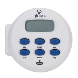 Globe Indoor Digital Timer - Medium