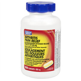 London Drugs Arthritis Pain Extended Relief - 650mg - 200 caplets