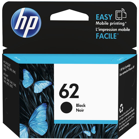 HP 62 Original Ink Cartridge - Black - C2P04AN#140