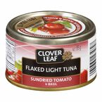 Clover Leaf Flaked Light Tuna - Sundried Tomato & Basil - 85g