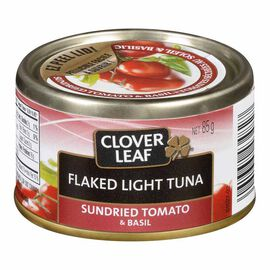 Clover Leaf Flaked Light Tuna - Sundried Tomato & Basil - 85g
