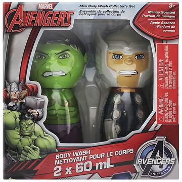 Marvel Avengers Mini Body Wash Collector's Set - Mango - 2 x 60ml