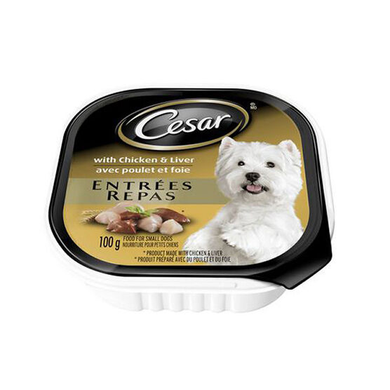 Pedigree Cesar Dog Food - Chicken and Liver - 100g