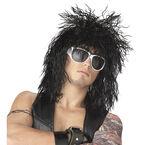 Halloween Rockin' Dude Wig - Black