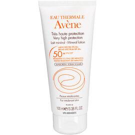Avene Mineral Lotion for Intolerant Skin - SPF 50 - 100ml