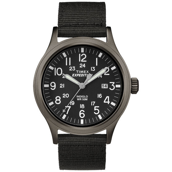 Timex Scout Metal Watch - Black/Grey - TW4B06900GP