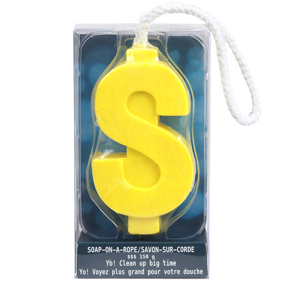 Soap On A Rope Dollar - Assorted - 150g