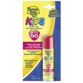 Banana Boat Kids Sunscreen Stick - SPF50 - 15.6g
