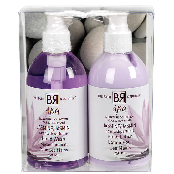 The Bath Republic Spa Caddy Bath Set - Jasmine - 2 piece